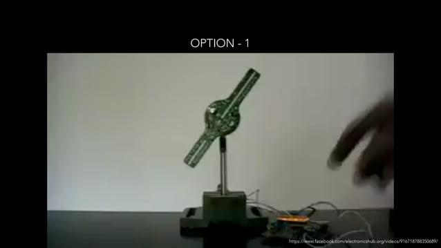 OPTION - 1 https://www.facebook.com/electronicshub.org/videos/916718788350689/