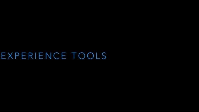 Rp2-2015 - Experience - Tools n Methods Slide 3