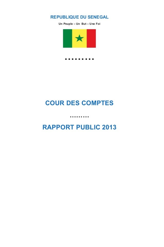 Cour des comptes - Lot n° 427 Route du King Fahd Palace Almadies BP : 9097 Dakar Peytavin Dakar (Sénégal) Tél. : (221) 33 ...