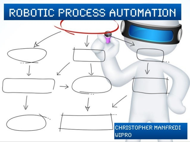 robotic process automation Christopher Manfredi Wipro