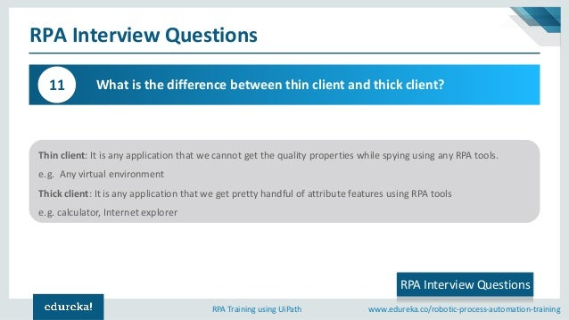 RPA Interview Questions and Answers | UiPath Interview