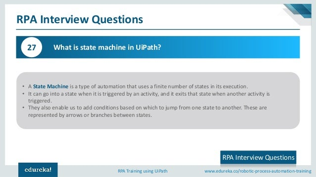 RPA Interview Questions and Answers   UiPath Interview