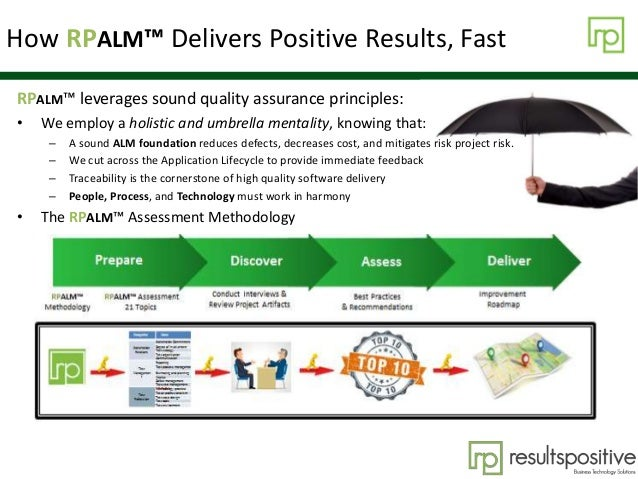 How RPALM™ Delivers Positive Results, Fast RPALM™ leverages sound quality assurance principles: • We employ a holistic and...
