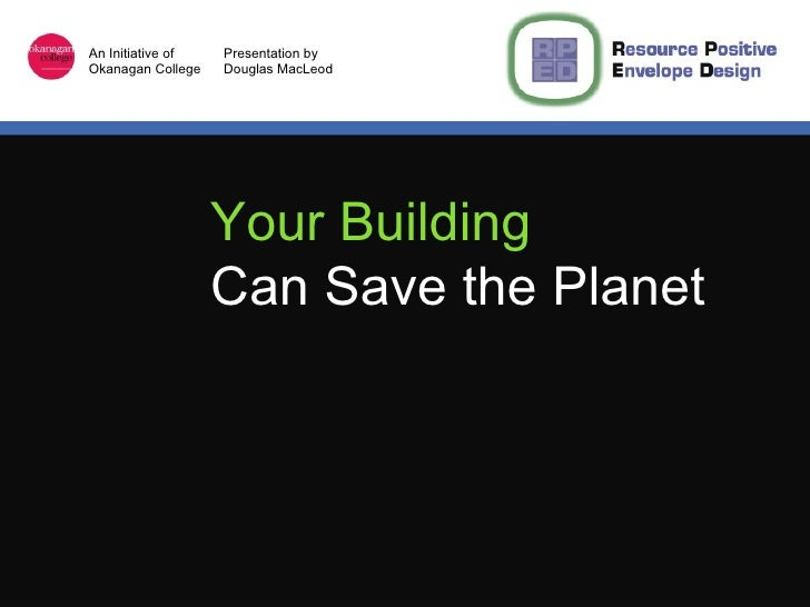 Your Building   Can Save the Planet