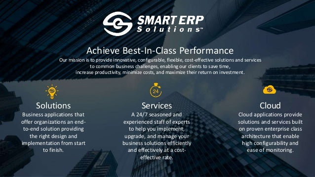 Achieve Best-In-Class Performance Our mission is to provide innovative, configurable, flexible, cost-effective solutions a...