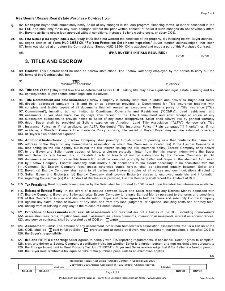 Residential Service Contracts  Resume Template Sample