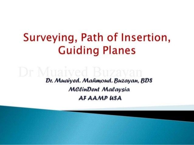 Rpd surveying 2nd yr