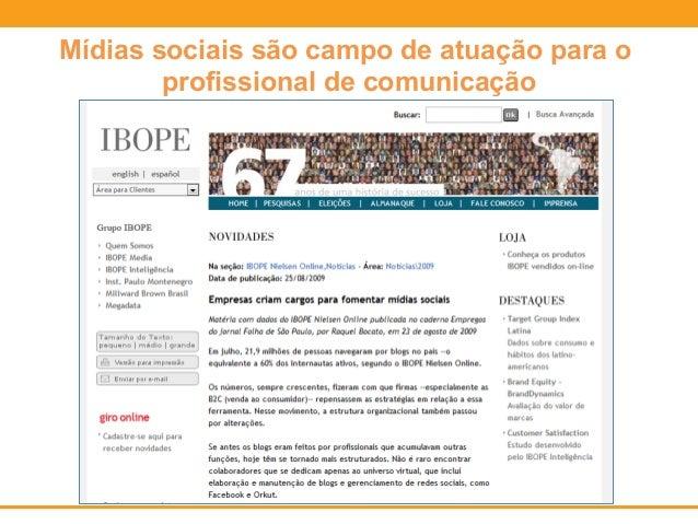 Prefeitura do RJ cria cargo de Coordenador de  Mídias Sociais