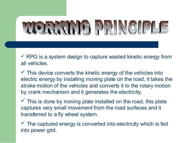 Power generation using speed breaker ppt | electric generator.