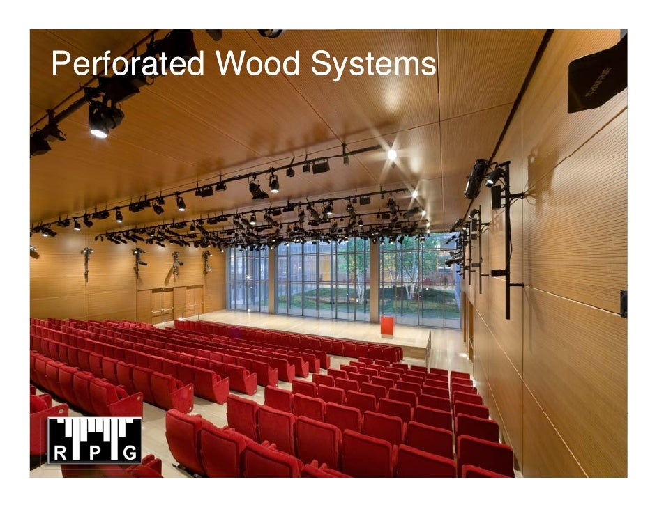 Perforated Wood Systems