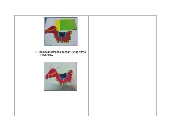 4. Membuat kemasan dengan kertas warna   hingga siap.