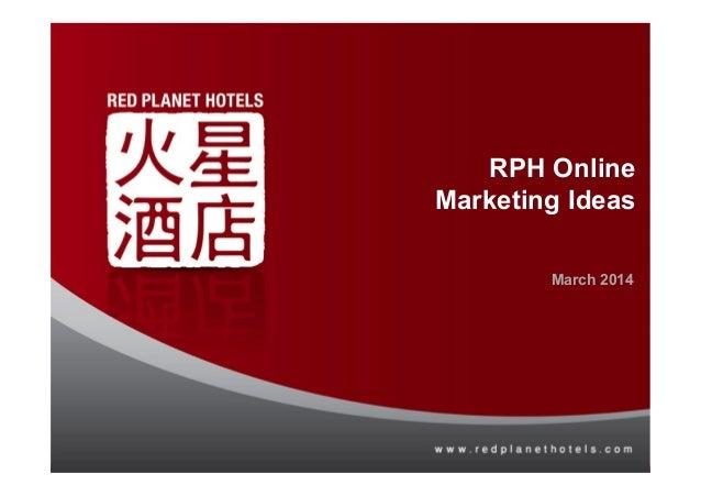 Tune Hotels Online Marketing Assessment