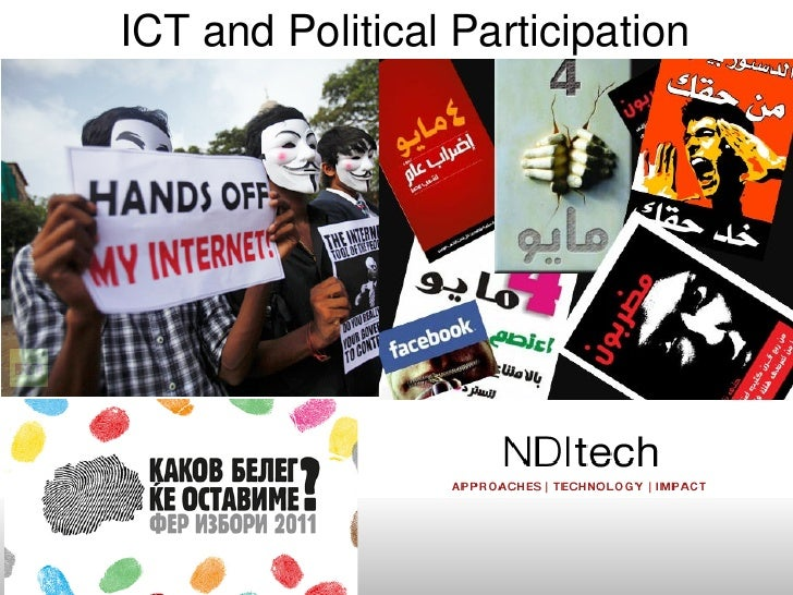ICT and Political Participation