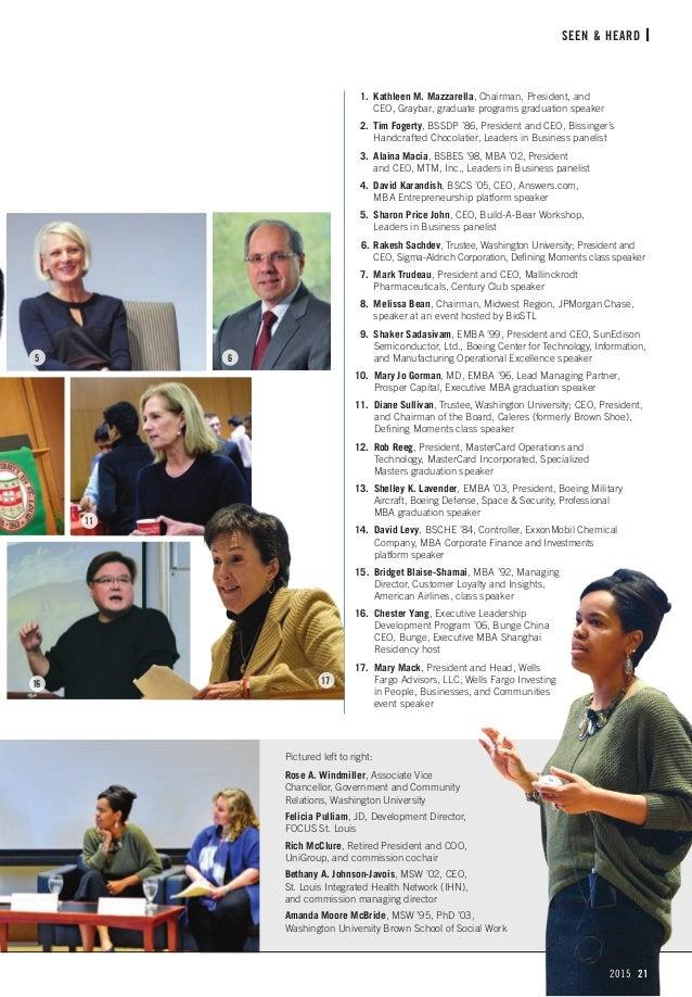 Olin Business School Magazine 2015