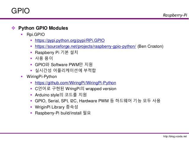 raspberry pi gpio with python rh slideshare net wiring pi hardware pwm python wiringpi python pwm example