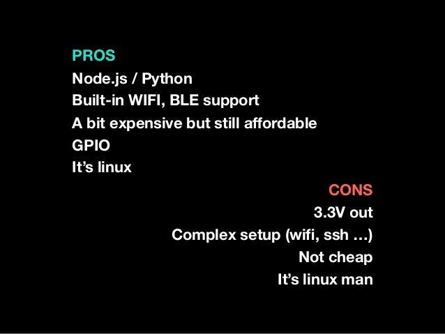Raspberry Pi IoT Stacks
