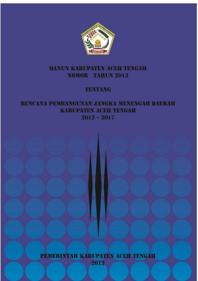 Rpjm Aceh Tengah