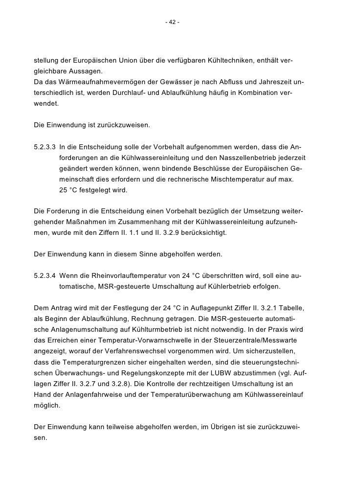 Rpk54.3 Gkm Entscheidung Wasserrecht