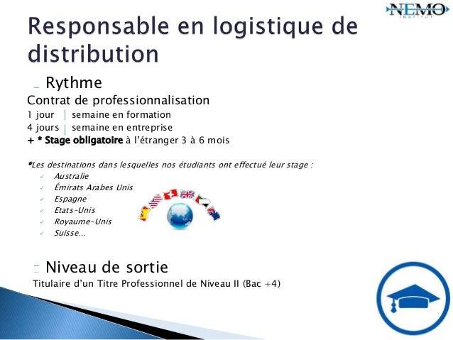 responsable en logistique de distribution