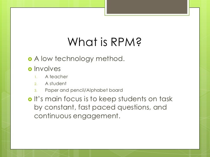 What Is Rpm >> Rpm