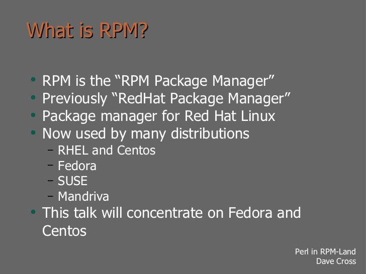 What Is Rpm >> What Is Rpm Ul Li Rpm Is