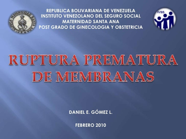 REPUBLICA BOLIVARIANA DE VENEZUELA<br />INSTITUTO VENEZOLANO DEL SEGURO SOCIAL<br />MATERNIDAD SANTA ANA<br />POST GRADO D...