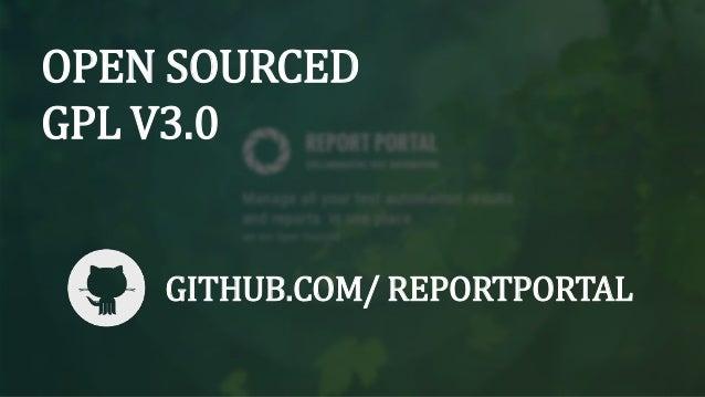 REPORT PORTAL