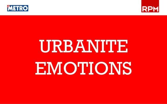 URBANITE EMOTIONS