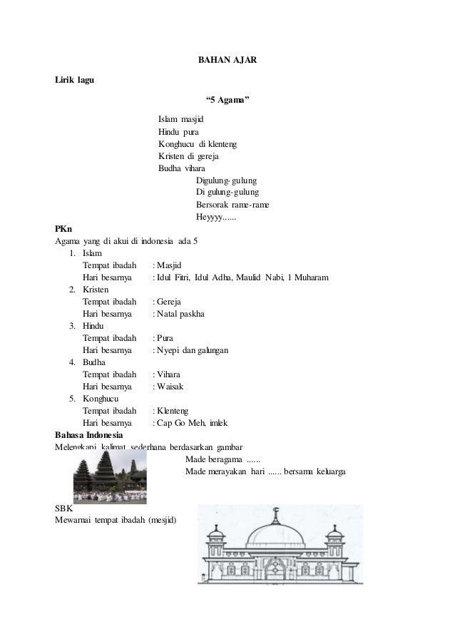 Rpp 1 Tema Keluarga