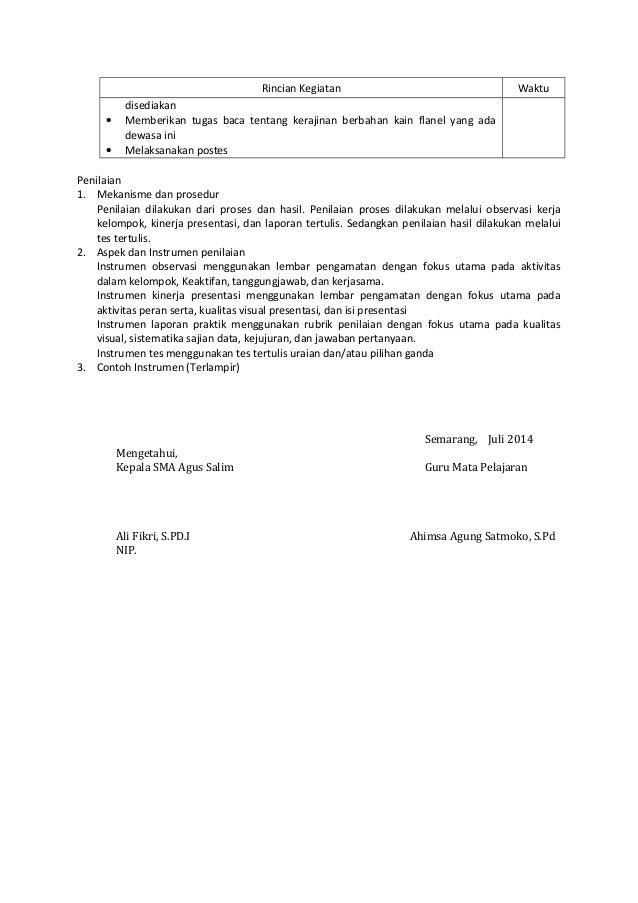 Rpp 1 1 Prakarya Kwu Kelas X Aspek Kerajinan