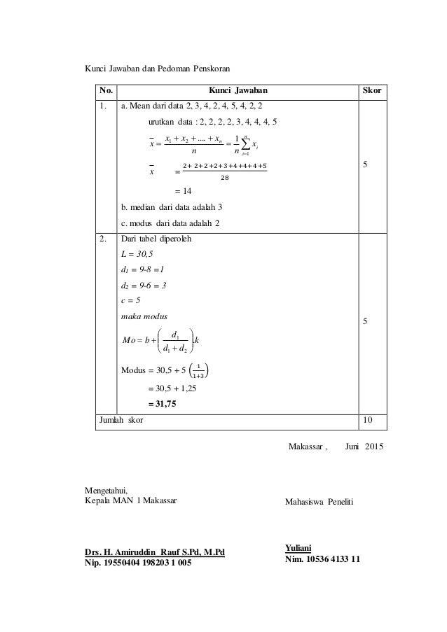 Ebook Statistika Matematika