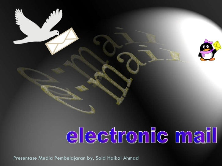 Presentase Media Pembelajaran by, Said Haikal Ahmad electronic mail