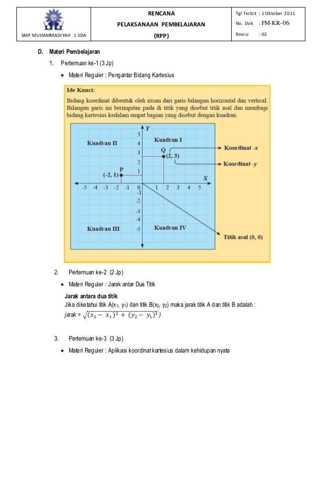 Rpp bab 8 bidang kartesius ccuart Images