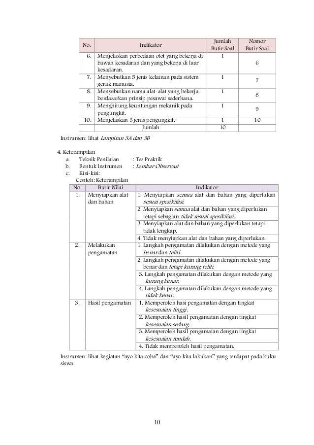 Rpp Ipa Bab Ii Kelas 8 Semester I