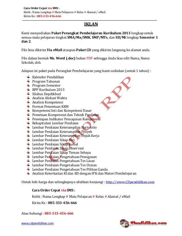 Rpp Bahasa Inggris Wajib Kurikulum 2013 Kelas Xi Semester 1
