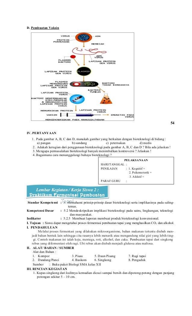 Rpp Biologi Kelas Xii Semester Ii