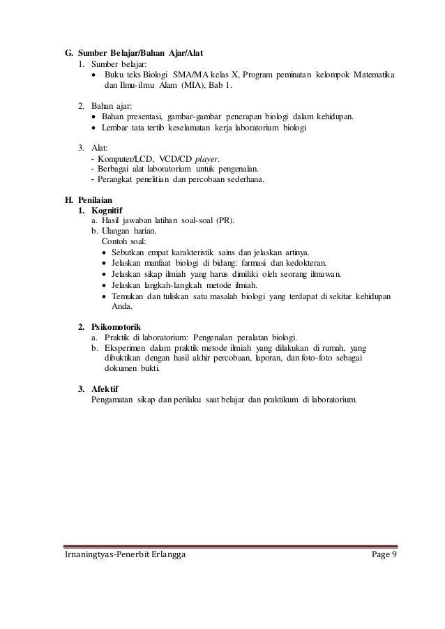 Contoh Karya Ilmiah Biologi Sma Kelas X Rasmi Ro