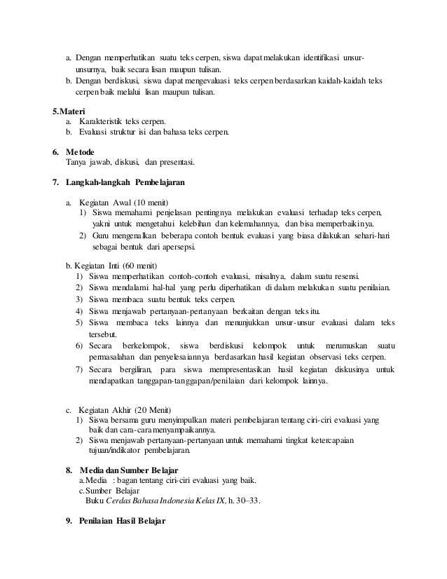 Contoh Cerpen Kelas X Contoh Soal2