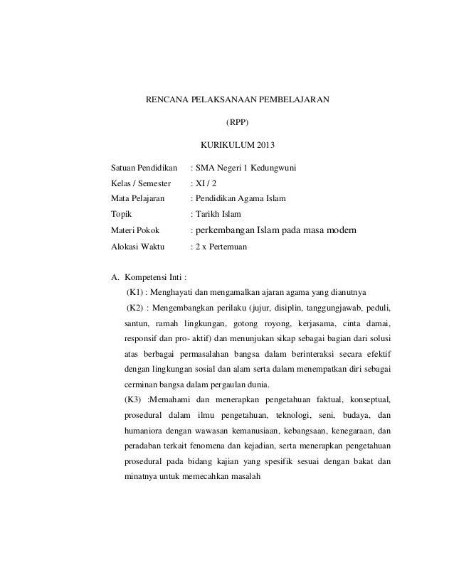 Resume Tentang Perkembangan Islam Pada Masa Modern Sasolo Annafora Co