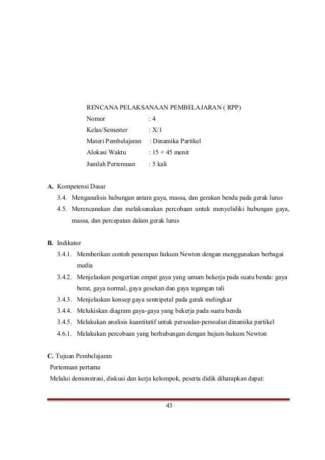 Rpp Fisika Kelas X Marthen Kanginan 2013