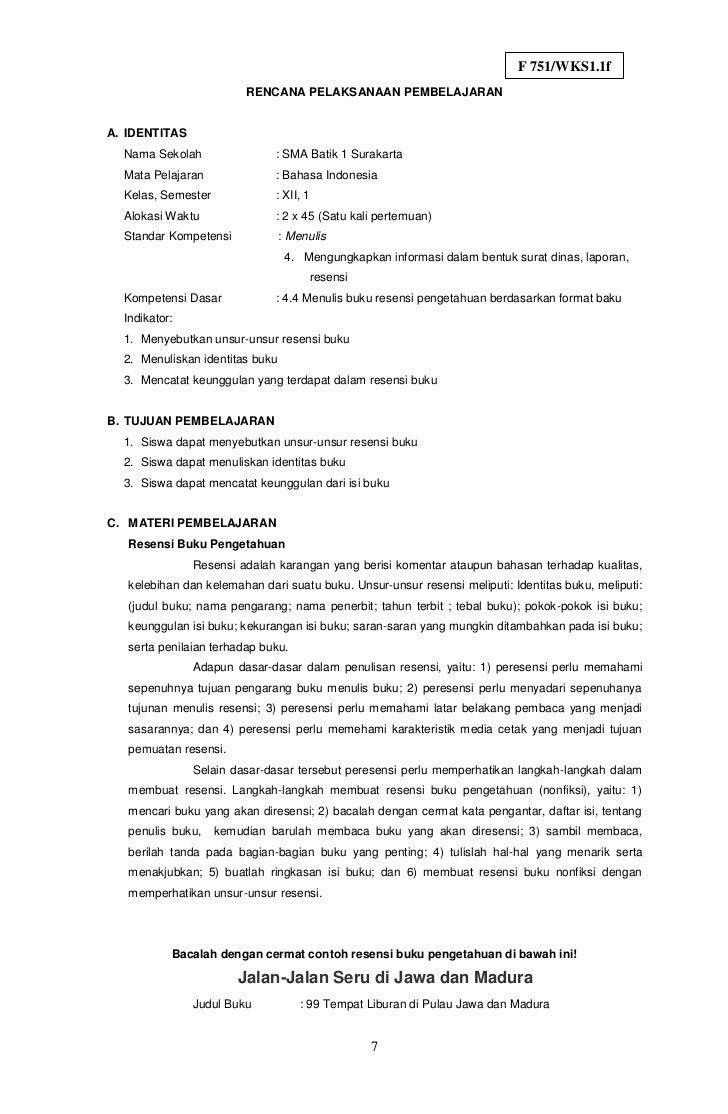 Contoh Surat Lamaran Gramedia