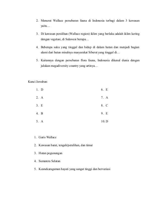 Kunci Jawaban Geografi Kelas 10 Semester 2 Kurikulum 2013 Guru Galeri