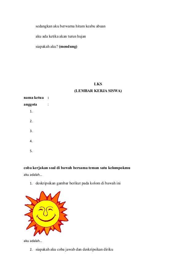 Rpp Kelas 1 Tematik