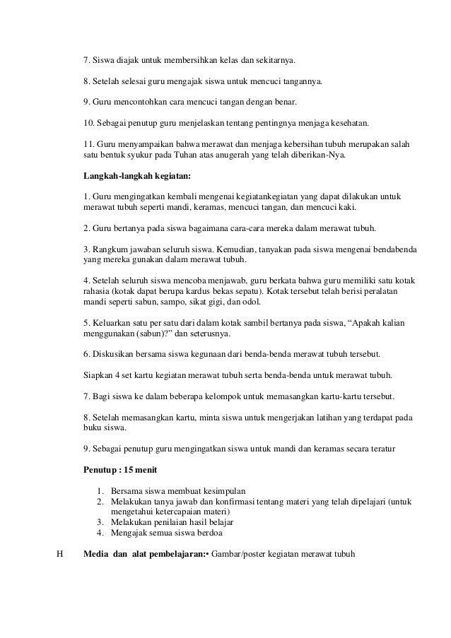 Gambar Rpp Kelas 1 Tema 3 Pembelajaran Mewarnai Alat Kebersihan