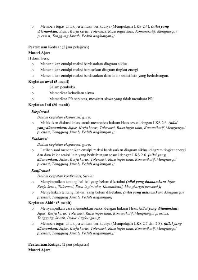 Rpp kimia sma berkarakter kelas xi 23 o ccuart Choice Image