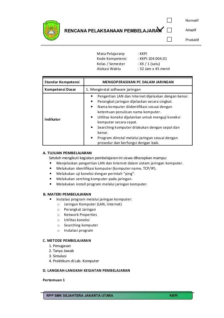 Rpp kkpi kls III 2011-12
