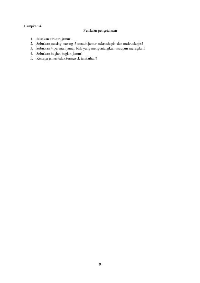 RPP IPA kelas VII klasifikasi makhluk hidup (pertemuan 4 ...