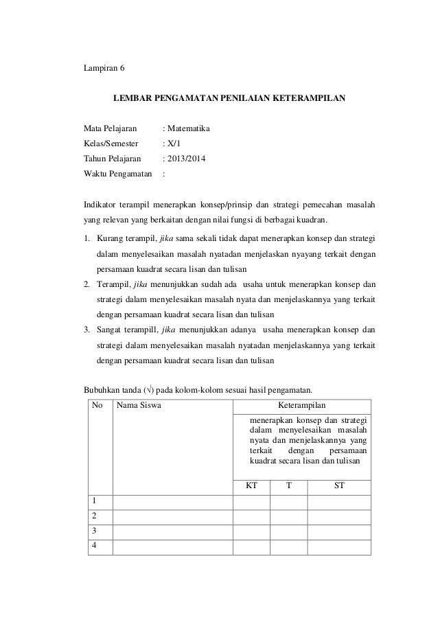 Contoh Ktsp Terbaru Download Contoh Sk Surat Tugas Mengajar Guru Kurikulum Silabus Sd Ktsp
