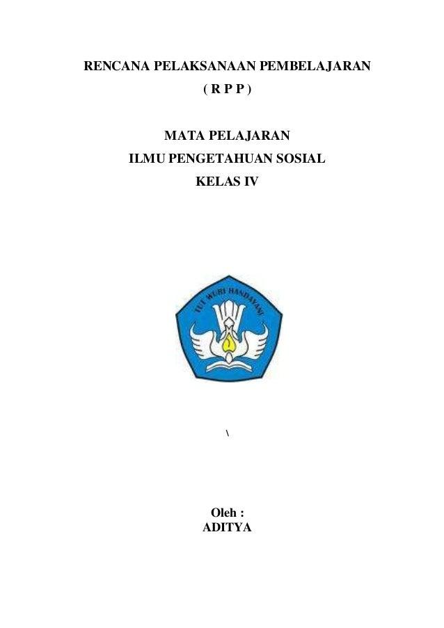 Contoh Rpp Plpg Kelas 4 Mapel Ips
