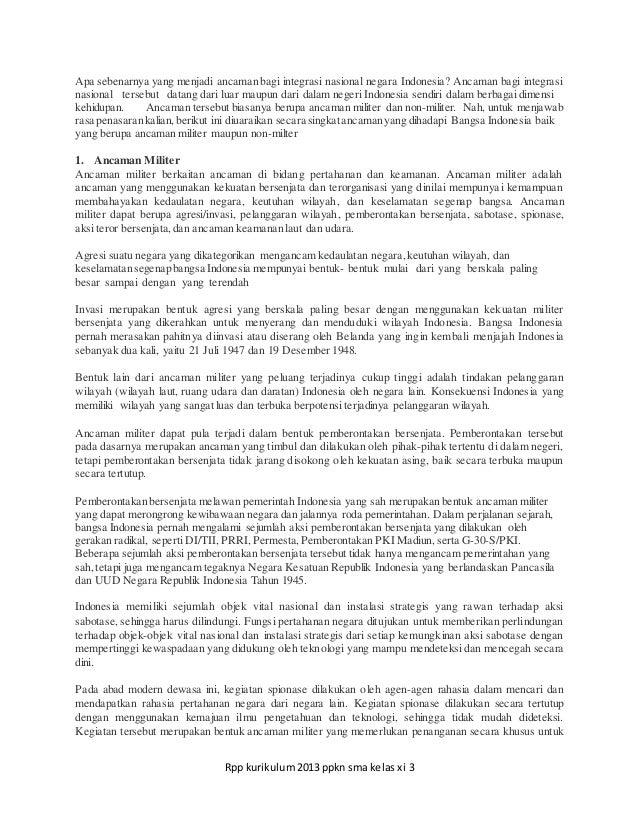 Rpp Ppkn Sma Xi Bab 7 Pertemuan 1